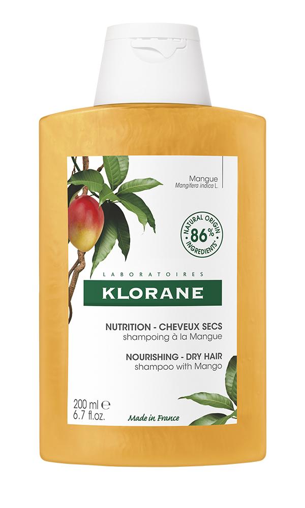 Купить Klorane Шампунь с маслом манго, 200 мл (Klorane, Dry Hair), Франция