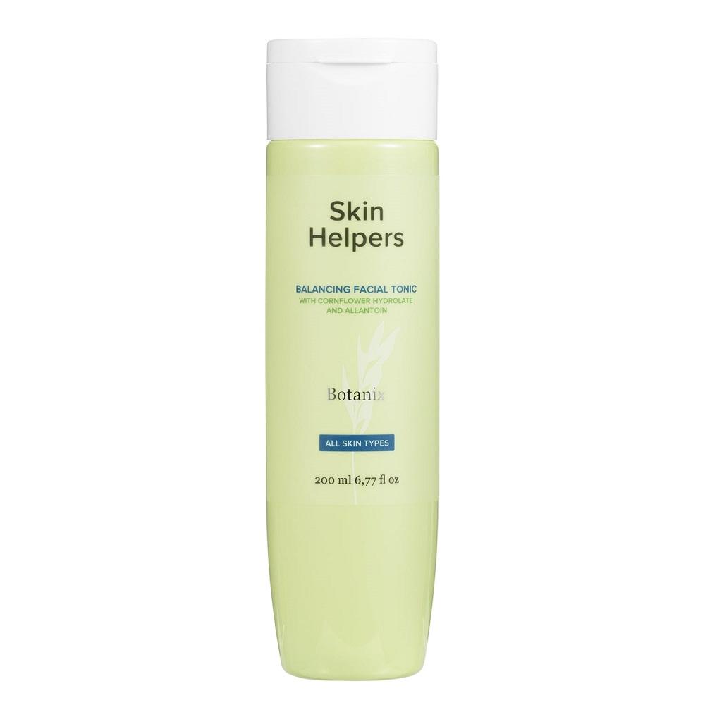 Купить Skin Helpers Балансирующий тоник для лица Botanix с гидролатом василька и аллантоином, 200 мл (Skin Helpers, Тонизирование)