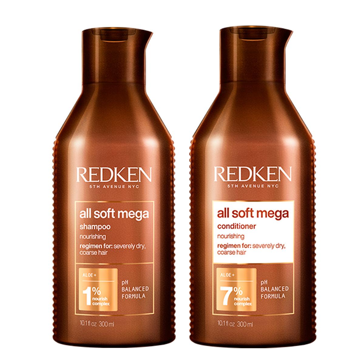 Купить Redken Набор для очень сухих и ломких волос: Шампунь 300 мл + Кондиционер 300 мл (Redken, Уход за волосами), США