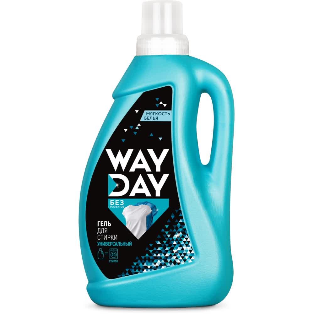 Купить WayDay Универсальное средство для стирки «Эффект чистоты», 1 л (WayDay, Средства для стирки)