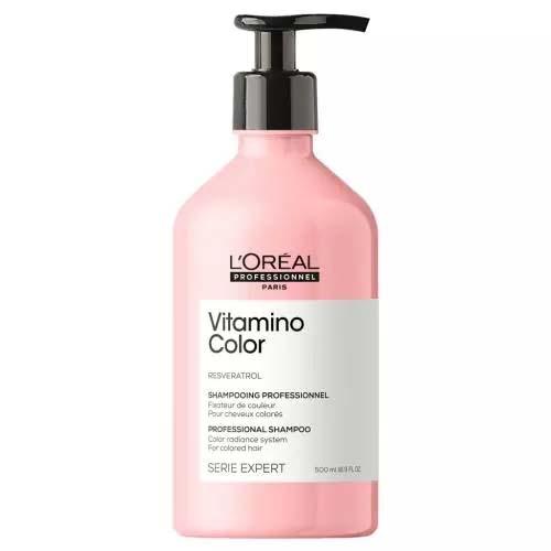 Купить Loreal Professionnel Шампунь Vitamino Color для окрашенных волос, 500 мл (Loreal Professionnel, Serie Expert), Франция