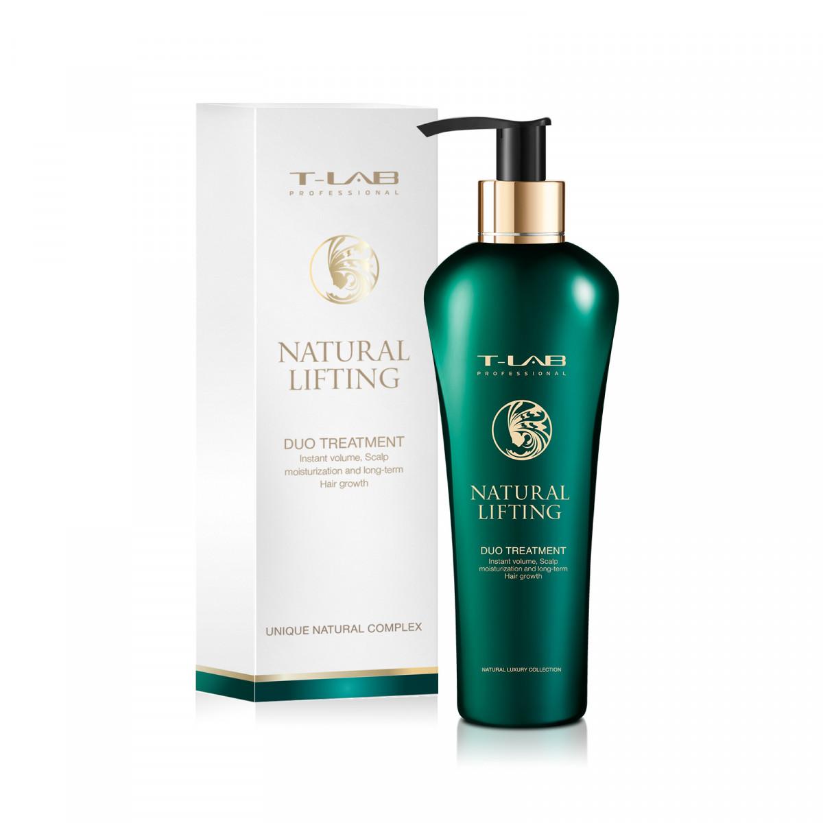 Купить T-Lab Professional Уход для мгновенного объема и увлажнения волос Duo, 300 мл (T-Lab Professional, Natural Lifting), Литва