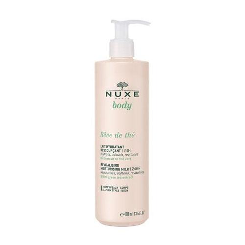 Купить Nuxe Молочко для тела восстанавливающее увлажняющее 24 часа Rêve de Thé, 400 мл (Nuxe, Nuxe body), Франция