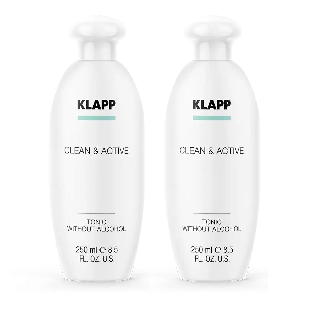 Купить Klapp Тоник без спирта, 250 мл х 2шт (Klapp, Clean & active), Германия