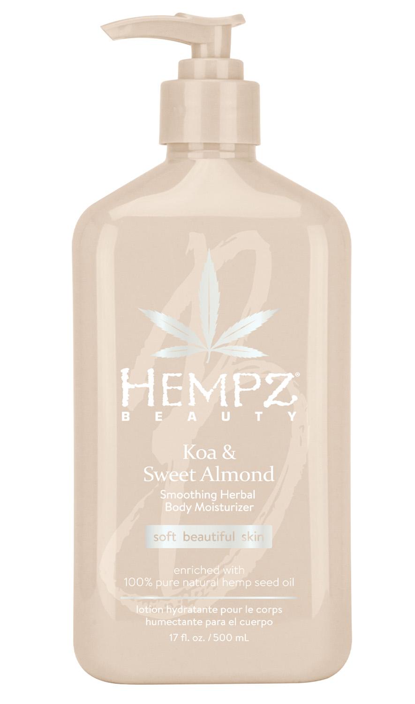 Купить Hempz Увлажняющее молочко для тела, 500 мл (Hempz, Коа и сладкий миндаль), США