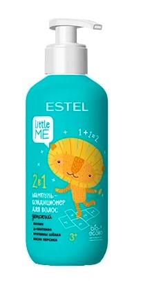 Купить Estel Детский шампунь-кондиционер для волос 2 в 1, 300 мл (Estel, Little Me), Россия