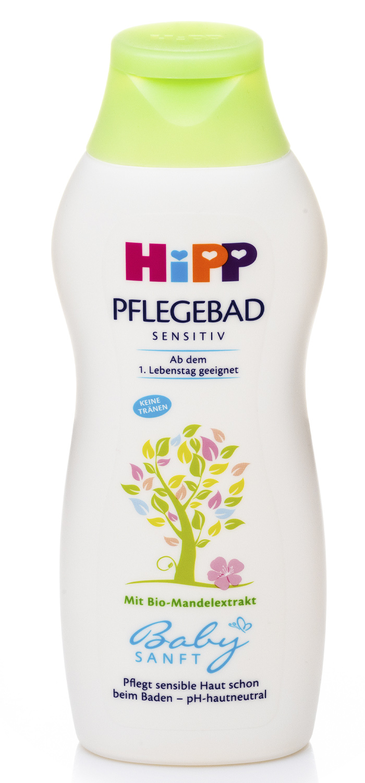 Купить HIPP Детская пена для купания без слёз Babysanft для чувствительной кожи, 350 мл (HIPP, Уход за кожей)