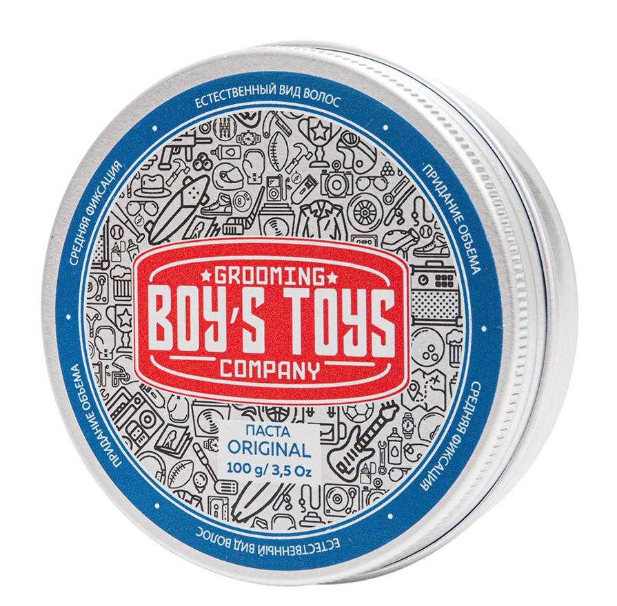Boys Toys Паста для укладки волос средней фиксации с низким уровнем блеска Original Defining Matte Paste, 100 мл (Boys Toys, Стайлинг)
