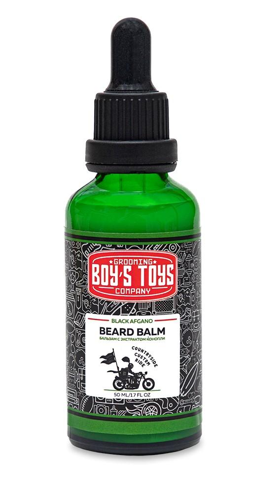 Boys Toys Бальзам для бороды с экстратком конопли Black Afgano, 50 мл (Boys Toys, Уход)