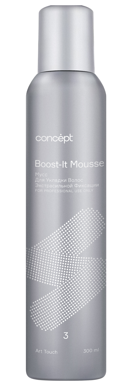 Купить Concept Мусс для укладки волос экстрасильной фиксации Art Touch, 300 мл (Concept, Stylist), Россия