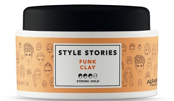 Купить ALFAPARF MILANO Глиняная паста сильной фиксации для эффекта матовых волос Funk Clay, 100 мл (ALFAPARF MILANO, Стайлинг)