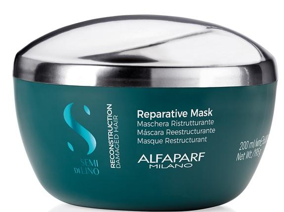 Купить ALFAPARF MILANO Маска для поврежденных волос Reconstruction Reparative Mask, 200 мл (ALFAPARF MILANO, Уход)