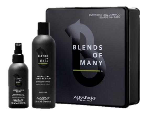 Купить ALFAPARF MILANO Подарочный набор Bom Gift Box: шампунь 250 мл + бальзам для бороды 100 мл (ALFAPARF MILANO, Man)