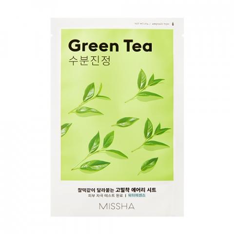 Купить Missha Тканевая маска для лица Green Tea (Missha, Уход за лицом), Южная Корея