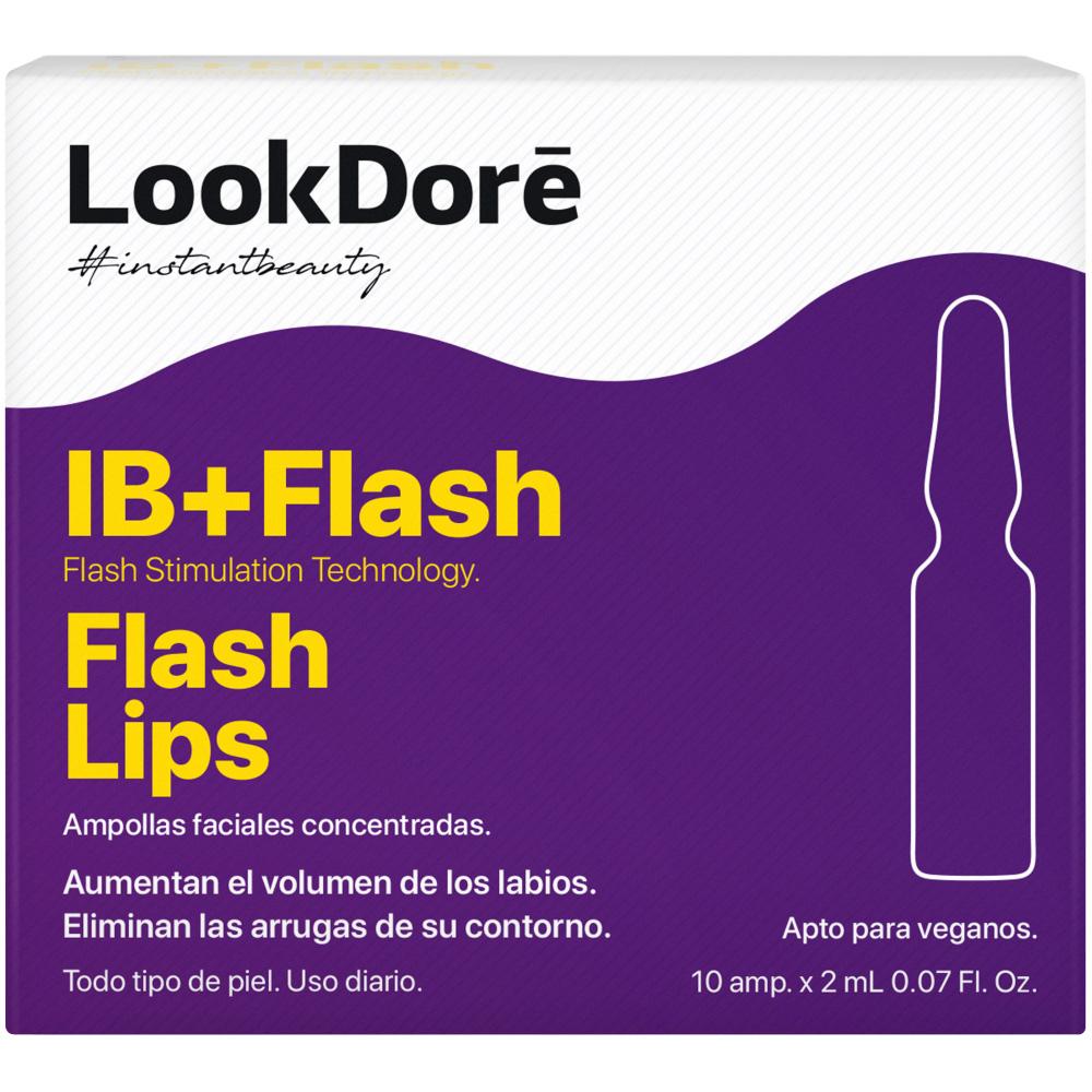 Купить LOOKDORE Концентрированная сыворотка в ампулах для губ, 10 шт * 2 мл (LOOKDORE, IB+FLASH)