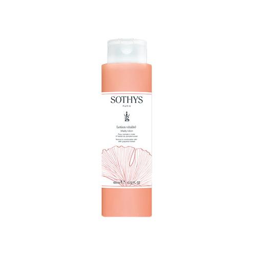 Sothys Тоник для нормальной и комбинированной кожи с экстрактом грейпфрута Vitality lotion, 400 мл (Sothys, Cleansing), Франция  - Купить