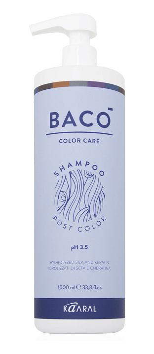 Купить Kaaral Шампунь-стабилизатор цвета для волос pH 3.5, 1000 мл (Kaaral, Color Care), Италия