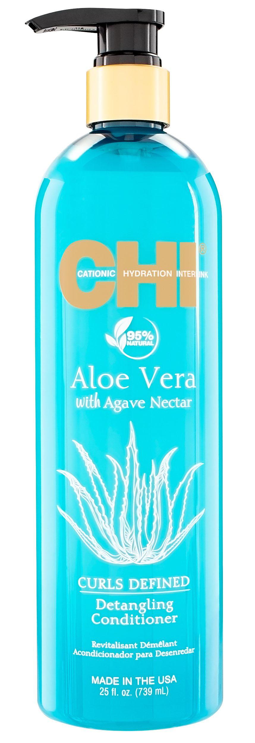 Купить Chi Кондиционер для облегчения расчесывания Agave Nectar, 710 мл (Chi, Aloe Vera), США
