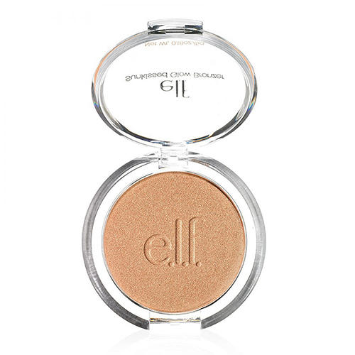 Бронзер для лица Glow Bronzer Sun Kissed, 5 г (Elf, Powder) бронзатор catrice sun lover glow bronzing powder цвет 010 sun kissed bronze variant hex name c09e93