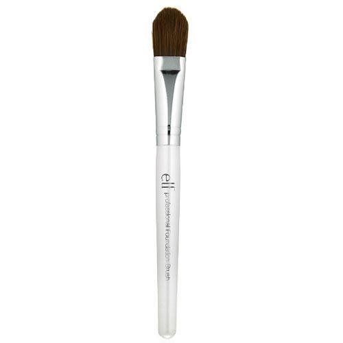 Кисть для основы под макияж Foundation Brush, 1 шт (Elf, Brush) кисть для нанесения основы скошенная angled foundation brush 1 шт elf brush