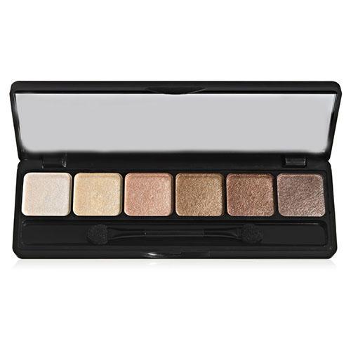 цена Палетка мерцающих теней Prism Eyeshadow Naked, 12 г (Elf, Eyebrows)