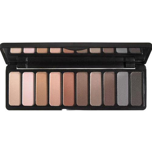 Палетка теней матовая Matte Eyeshadow Palette, 12 г (Elf, Eyebrows) elf studio baked eyeshadow palette california палетка теней тон 85132