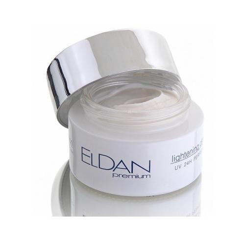 Отбеливающий крем 24 часа УФ 50 мл (Lightening) (Eldan)