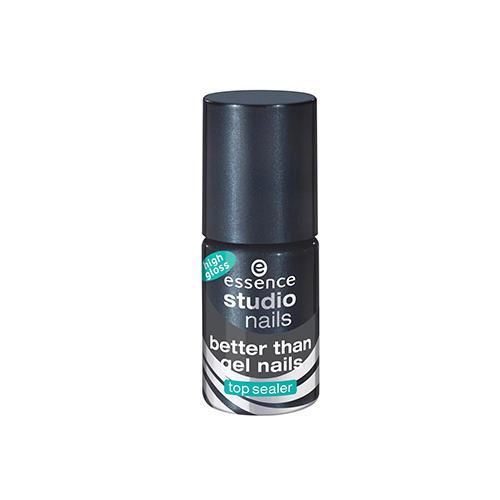 Essence Укрепляющее верхнее покрытие для ногтей с гель-блеском Better than gel nails top sealer high (Essence, Ногти) kodi каучуковое верхнее покрытие топ финиш для гель лака rubber top 35 мл
