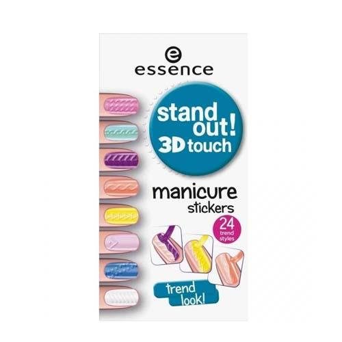 Наклейки для ногтей Stand out! 3D touch manicure stickers 01 (Ногти)
