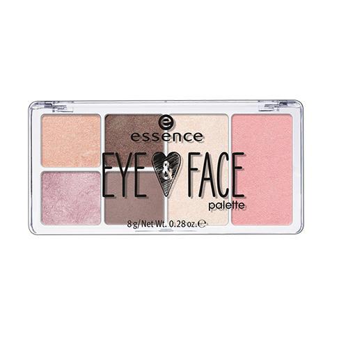 Палетка для макияжа глаз и лица eye face palette (Essence, Глаза)