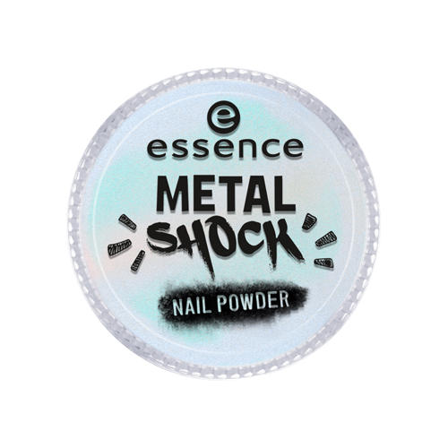 Пудра для ногтей Metal Shock Nail Powder (Essence, Ногти) дизайн ногтей essence пудра для ногтей metal shock nail powder 05 цвет 05 under the sea variant hex name e4e3fd