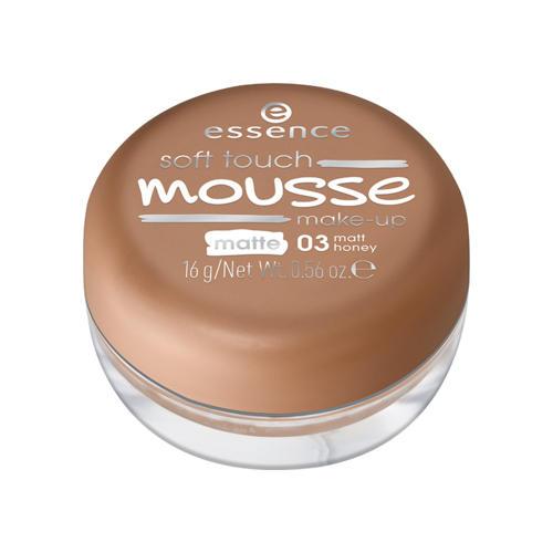 Тонирующий мусс Soft Touch Matt Mousse (Essence, Лицо) essence soft touch matt mousse мусс тонирующий тон 03
