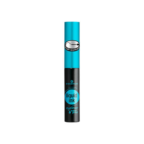 Водостойкая черная подводка для глаз (Essence, Глаза)