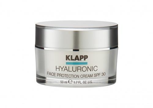 Защитный крем для лица HYALURONIC SPF30, 50 мл (Klapp, Hyaluronic) набор по уходу за лицом hyaluronic face care set 2019 1 шт klapp hyaluronic