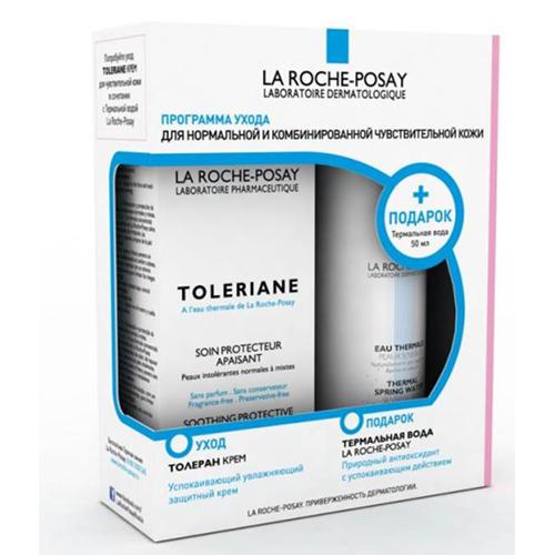 Набор Толеран Флюид 40 мл Термальная вода 50 мл (La RochePosay, Toleriane) ля рош позе 50