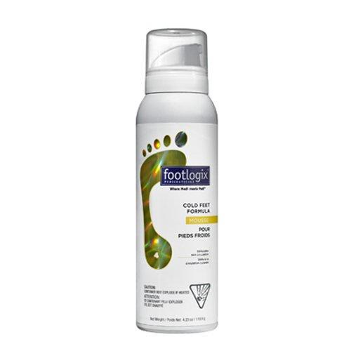 Согревающий мусс для ног 119 мл (Footlogix, Footlogix) footlogix мусс со гевающий легкий для ног