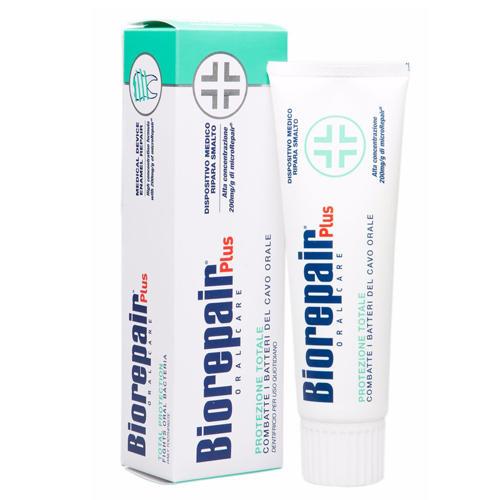 Total plus Protezione Зубная паста с комплексной защитой 75 мл (Biorepair, Ежедневная забота) стоимость