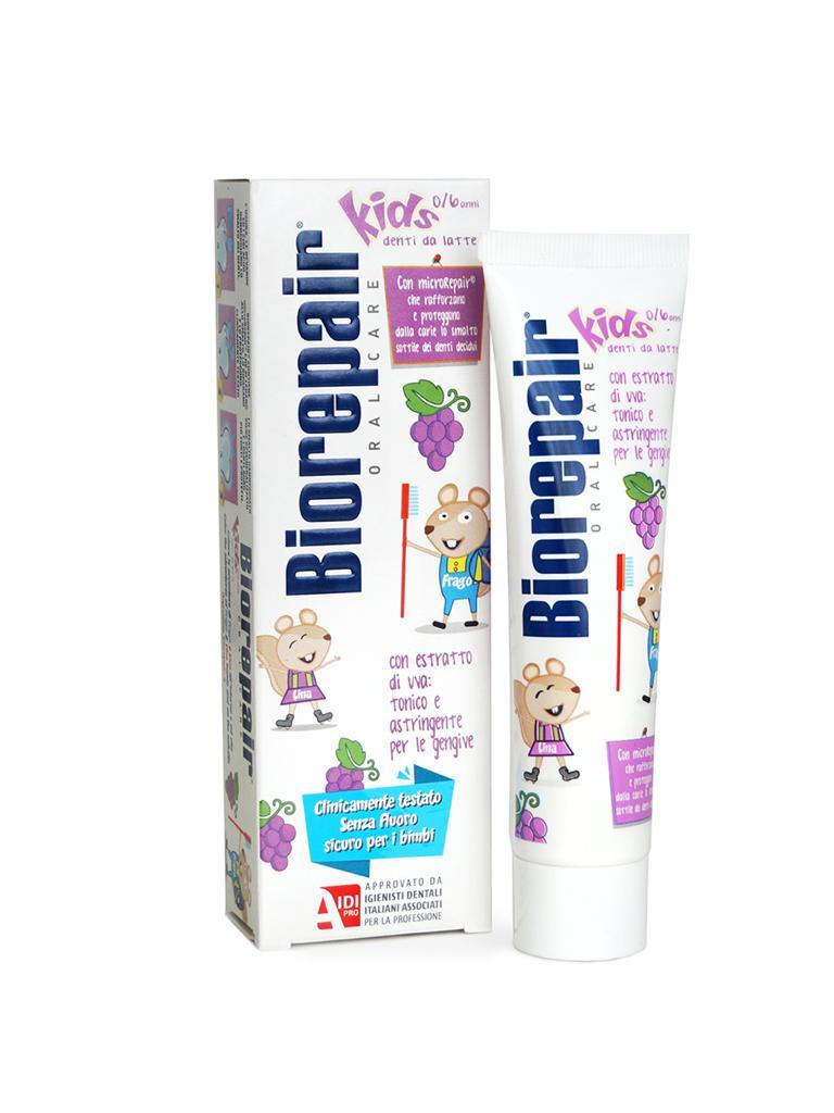 Купить Biorepair Детская зубная паста 50 мл виноград (Biorepair, Детская гамма), Италия
