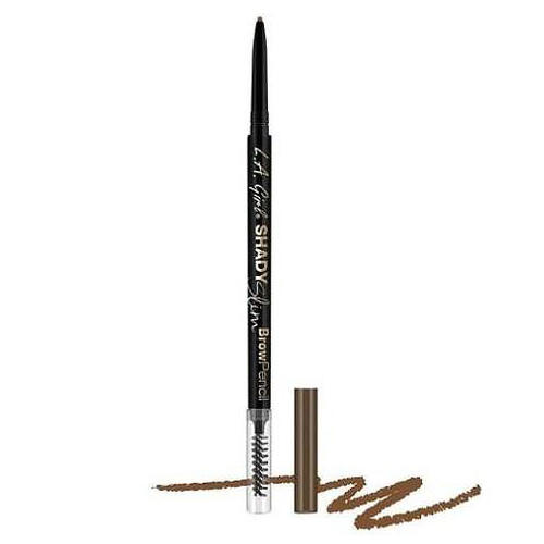 Карандаш для бровей Shady Slim Brow Pencil (L.A. Girl, Brow) l a girl карандаш для бровей shady slim brow pencil blonde 8 оттенков brunette 1 шт