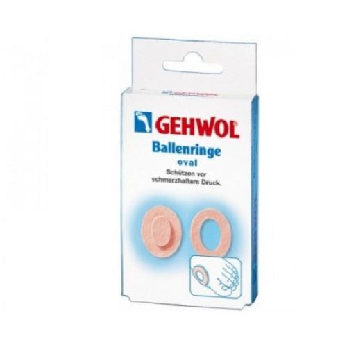 Gehwol Накладки кольцо овальные 6 шт (Gehwol, BALLENRINGE OVAL)