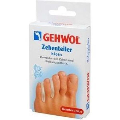 Gehwol Гель-корректоры между пальцев маленький размер 3 шт (Gehwol, Zehenteiler) gehwol g вкладыши между пальцев средние 15 шт