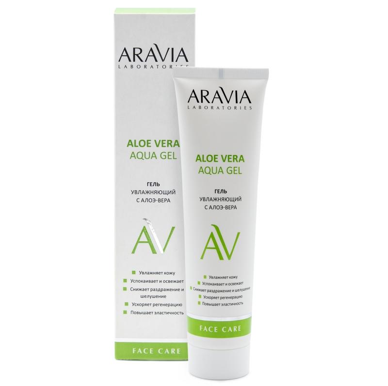 Купить Aravia Professional Увлажняющий гель с алоэ-вера Aloe Vera Aqua Gel, 100 мл (Aravia Professional, Уход за лицом), Россия