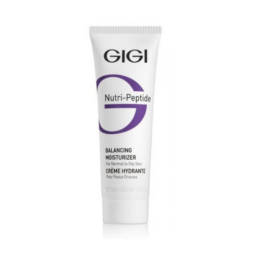 GIGI Пептидный увлажняющий балансирующий крем для жирной кожи, 50 мл (GIGI, Nutri-Peptide) gigi пептидный увлажняющий балансирующий крем для жирной кожи 50 мл gigi nutri peptide