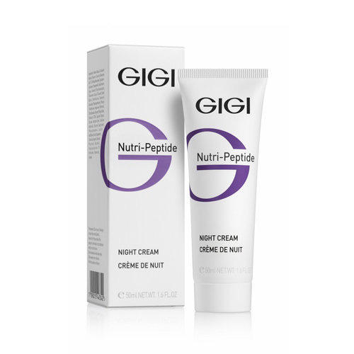 GIGI Пептидный ночной крем, 50 мл (GIGI, Nutri-Peptide) gigi nutri peptide night cream крем ночной пептидный 50 мл