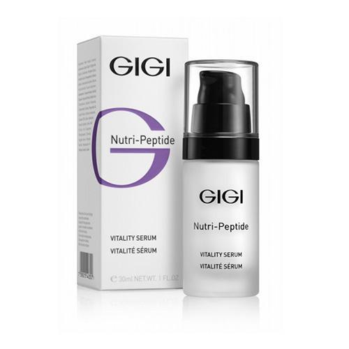 Пептидная обновляющая сыворотка, 30 мл (GIGI, NutriPeptide) gigi пептидная оживляющая сыворотка np vitality serum 30 мл