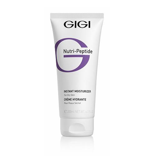 GIGI Пептидный крем мгновенное увлажнение для сухой кожи, 200 мл (GIGI, Nutri-Peptide) gigi пептидный увлажняющий балансирующий крем для жирной кожи 50 мл gigi nutri peptide