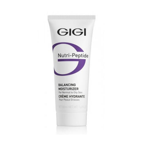 GIGI Пептидный увлажняющий балансирующий крем для жирной кожи, 200 мл (GIGI, Nutri-Peptide) gigi пептидный увлажняющий балансирующий крем для жирной кожи 50 мл gigi nutri peptide