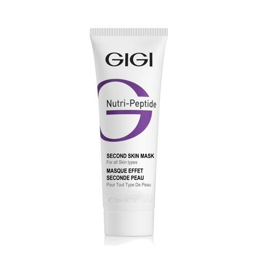 Маска Second Skin черная, 75 мл (GIGI, NutriPeptide) маска second skin черная 75 мл gigi nutripeptide