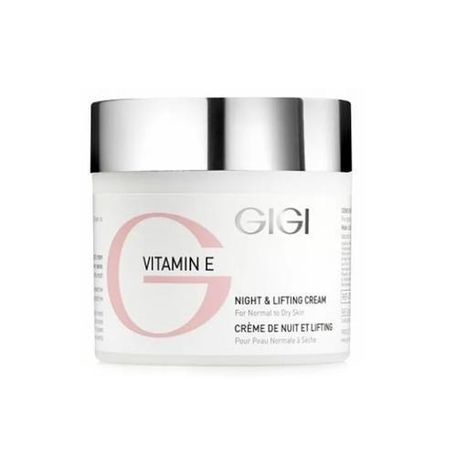 Фото - GIGI Ночной лифтинговый крем «Витамин Е» 50 мл (GIGI, Vitamin E) gigi жидкое крем мыло для сухой и обезвоженной кожи витамин е 250 мл gigi vitamin e