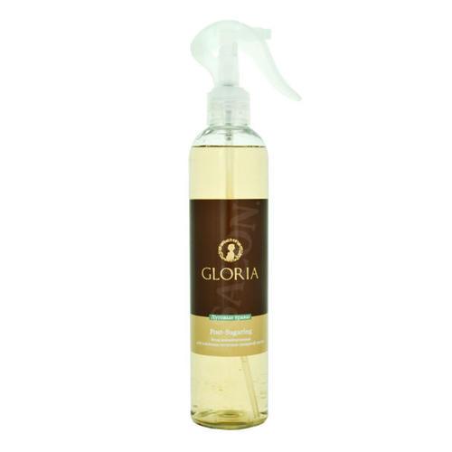 Gloria Вода косметическая для удаления остатков сахарной пасты, Луговые травы, 350 мл ()